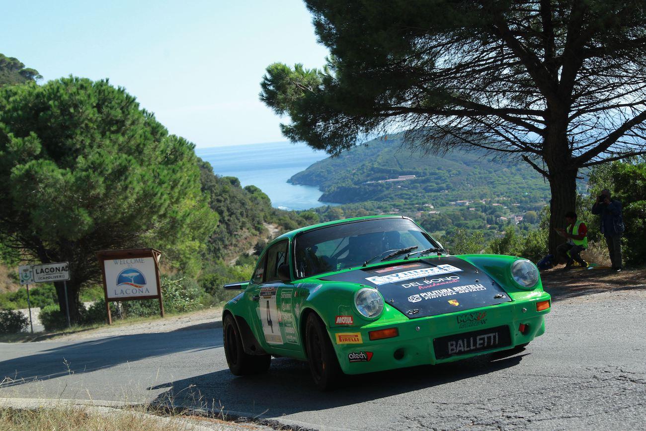 Alberto Salvini (Porsche 911 Sc) firma il XXXI Rallye Elba Storico-Trofeo Locman Italy